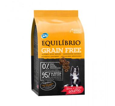 Ração Equilíbrio Grain Free para Cães Adultos Raças Médias e Grandes