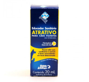 Good Pet Atrativo Sanitário Educador 20ml