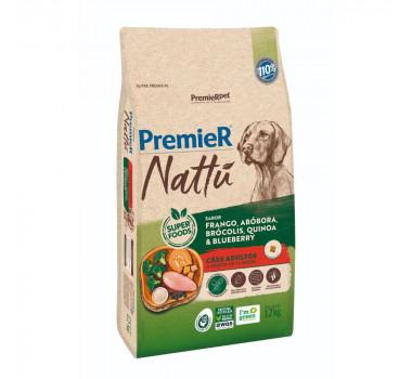 Ração PremieR Nattu Abóbora para Cães Adultos - 12kg