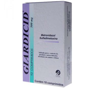 Giardicid 500mg 10cp Cepav