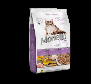 Ração Monello Premium Cat Castrados 1kg