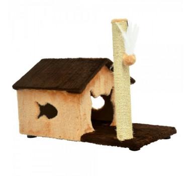 Brinquedo Arranhador Fit House São Pet para Gatos