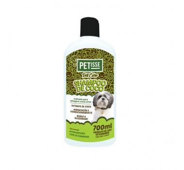 Petisse Shampoo de Coco para Cães e Gatos 350ml