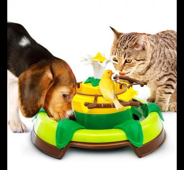 Brinquedo Acqua Zoo Fonte Elétrica Truqys Pets para Cães, Gatos e Pássaros