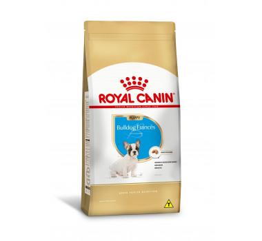 Ração Seca Royal Canin Size Nutrition para Cães da Raça Bulldog Francês Filhote - 2,5Kg