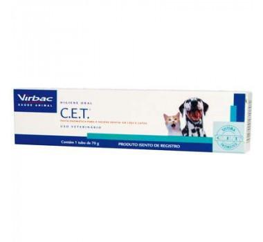 Pasta Dental Enzimática C.E.T Virbac para Cães e Gatos - 70g