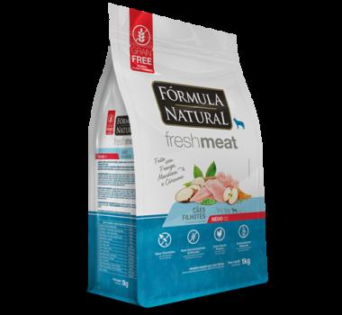 Ração Seca Fórmula Natural Fresh Meat Frango, Mandioca e Cúrcuma para Cães Filhotes de Médio Porte - 12Kg