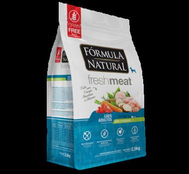 Ração Seca Fórmula Natural Fresh Meat Frango, Mandioca e Alecrim para Cães Adultos de Mini e Pequeno Porte