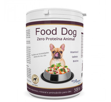 Food Dog Zero Proteina Animal Botupharma 500g