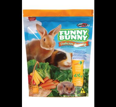 Alimento Completo Super Premium Completo Funny Bunny Delícias da Horta Supra para Coelhos, Hamsters e Pequenos Roedores - 500g