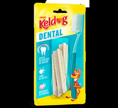 Osso Keldog Dental Y Kelco para Cães - 3 unidades