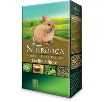 Alimento Super Premium Nutrópica para Coelhos Filhotes - 500g