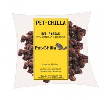Uva Passa Pet-Chilla para Roedores - 100g